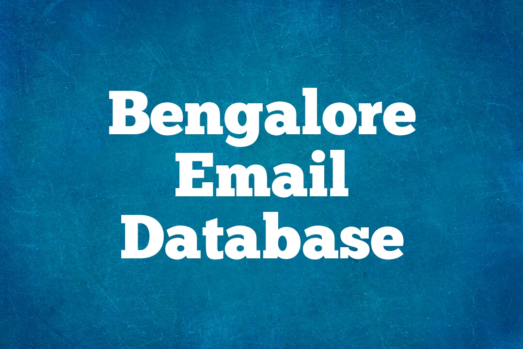 Top 1000+ email address list in Bangalore | download free