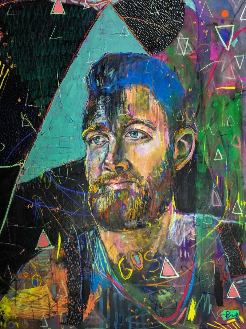 Portrait Paintings by Brandi Hofer.