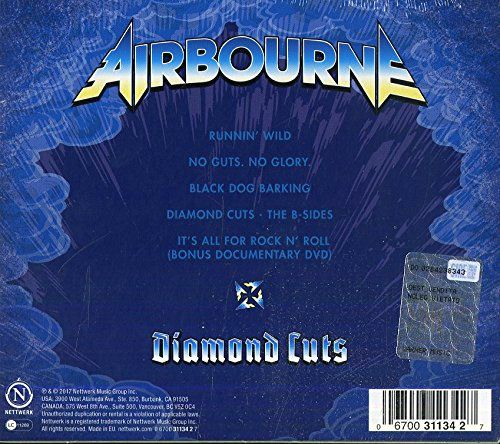 AIRBOURNE - Diamond Cuts ; The B-Sides (2017) back