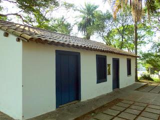 Casa do Grito, em São Paulo - Lembra a do Quadro de Pedro Américo