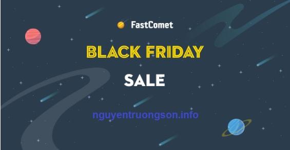 Chương trình khuyến mãi Black Friday của FastComet
