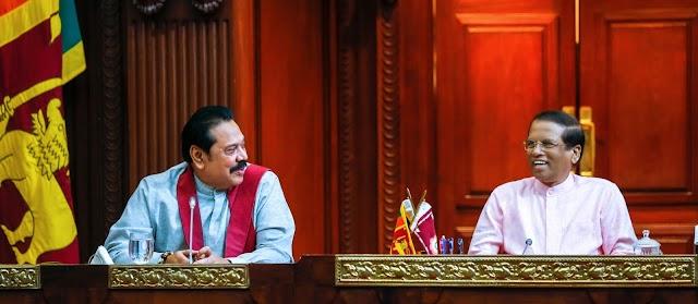 மைத்திரி, மஹிந்த ; ஐக்கிய மக்கள் சுதந்திரக் கூட்டமைப்பு எம்.பி க்களுடன் கூட்டம்