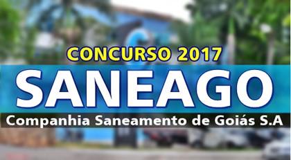 concurso Saneago 2017