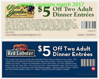 Olive Garden coupons for march 2017