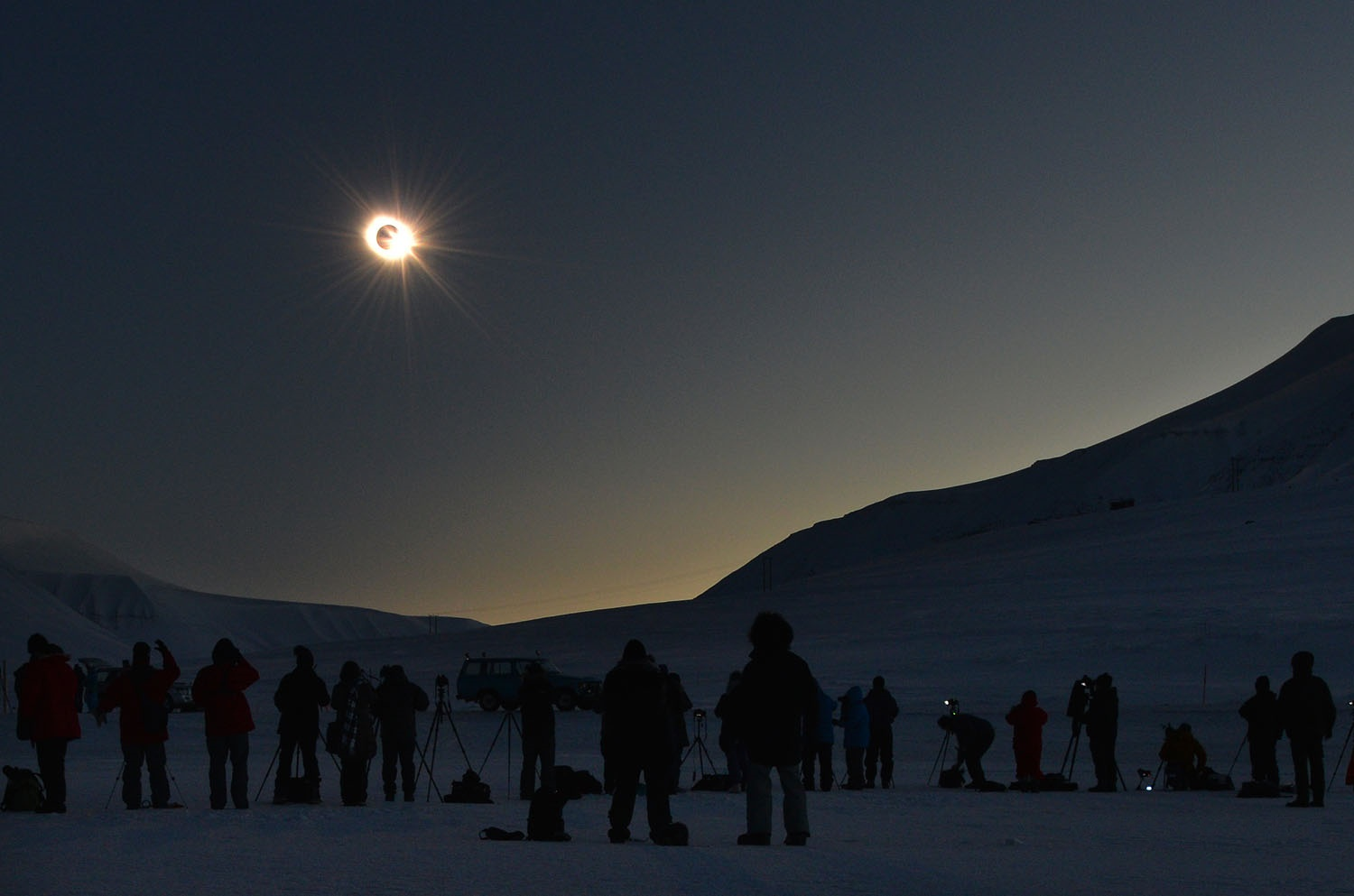 March 2015 Solar Eclipse over Svalbard Svalbard, Norway March 20, 2015  Image Credit & Copyright: Stan Honda