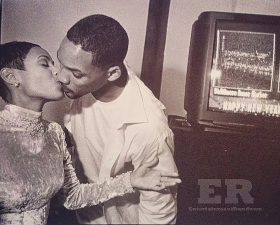 Will and Jada Wedding Picture 1997