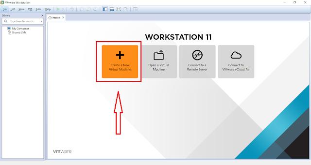 Tạo máy ảo với VMware Workstation - H01