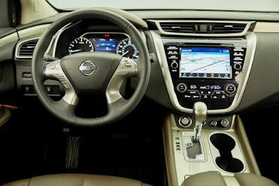 Nissan Murano 2017 interior dark