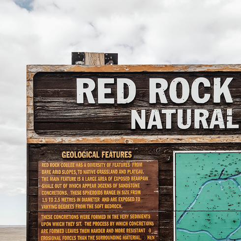 Red Rock Coulee Natural Area Alberta