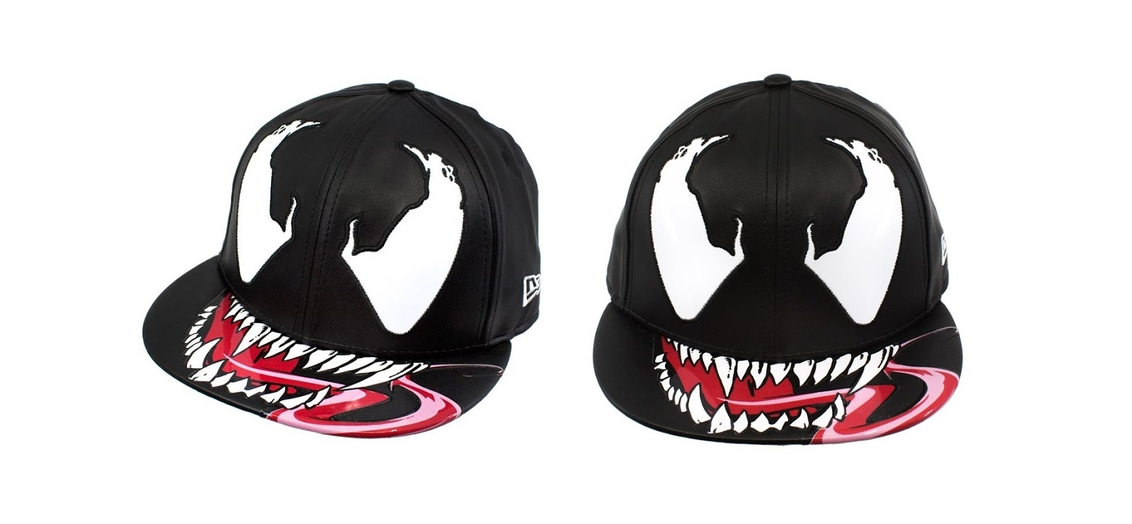 Venom Character Armor 59Fifty Fitted Hat By New Era Cap X Marvel A Super Hero Stuff Exclusive