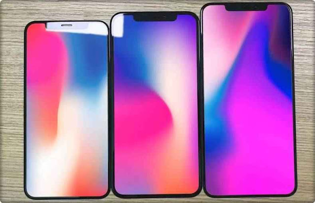 Apple iPhone XS Max XR Android Tampilan