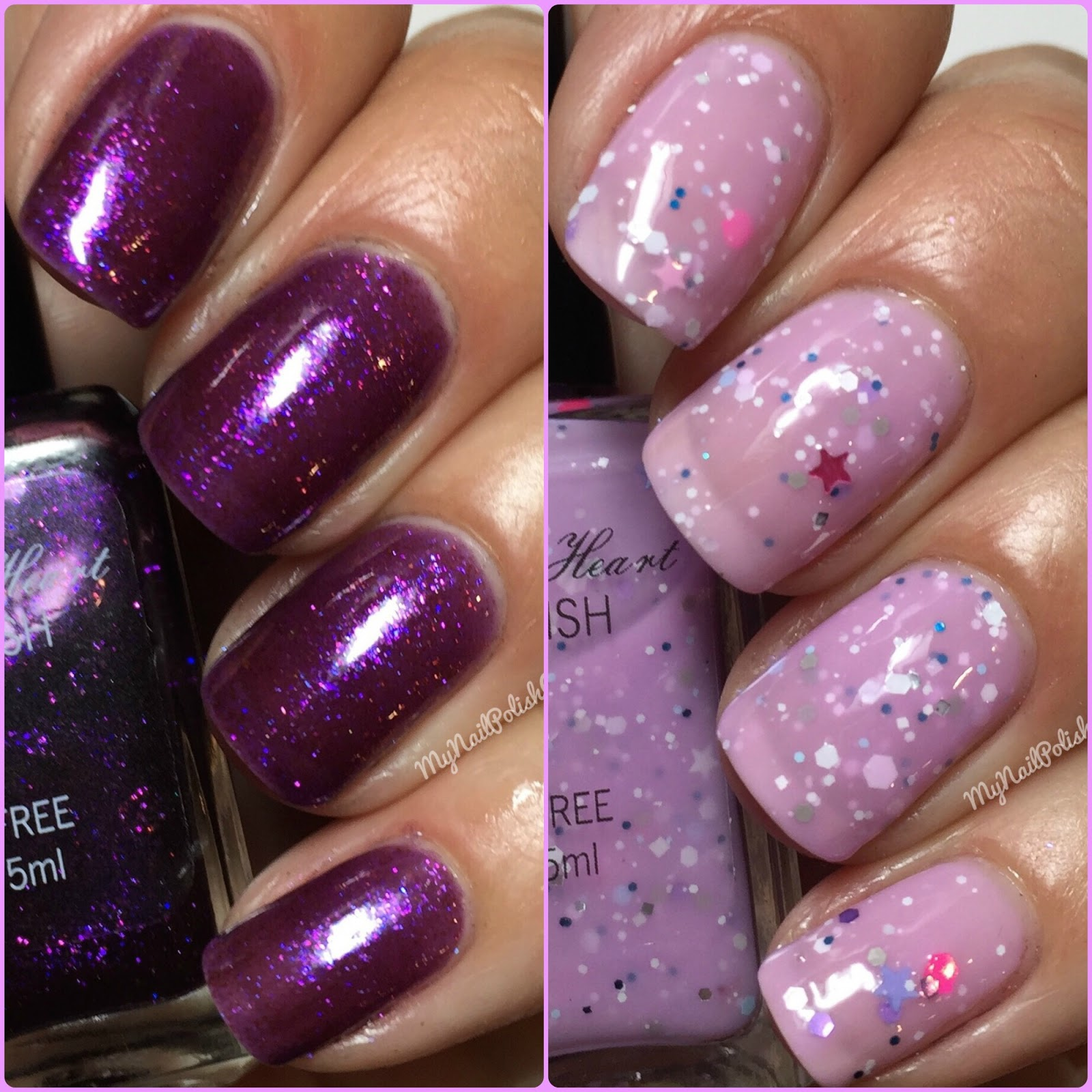 My Nail Polish Obsession: Sweet Heart Polish Love Potion & Frosted ...