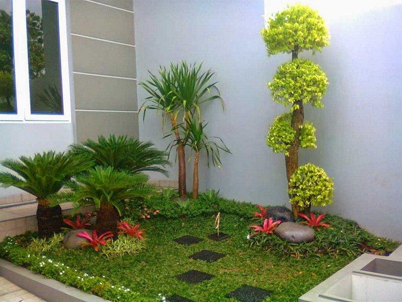 taman halaman rumah yang menarik