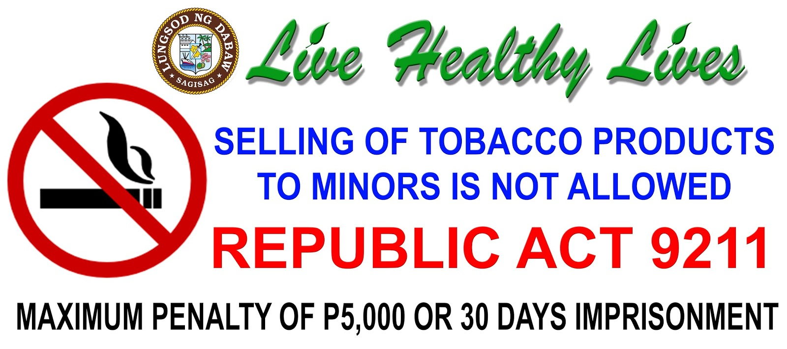 republic act 9211 The court of appeals has declared invalid an anti-smoking ordinance adopted by the metropolitan manila development authority in 2011, saying the agency had no police and legislative powers to enforce the anti-smoking provisions of republic act no 9211 or the tobacco regulation act of 2003.
