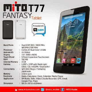 Official Firmware Mito T77