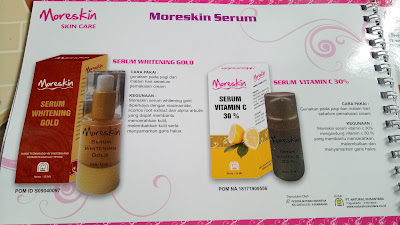 MANFAAT MORESKIN SERUM WHITEING GOLD DAN SERUM VITAMIN C 30% NASA