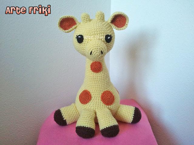 Amigurumi Funny Giraffe pattern. Crochet pattern. Amigurumi safari ... | 480x640