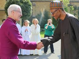 Nigerians Let Us Pray For Buhari, Arch Bishop of Canterbury says