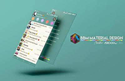 BBM MOD Material Design v1.5 v.2.8.0.21 Apk