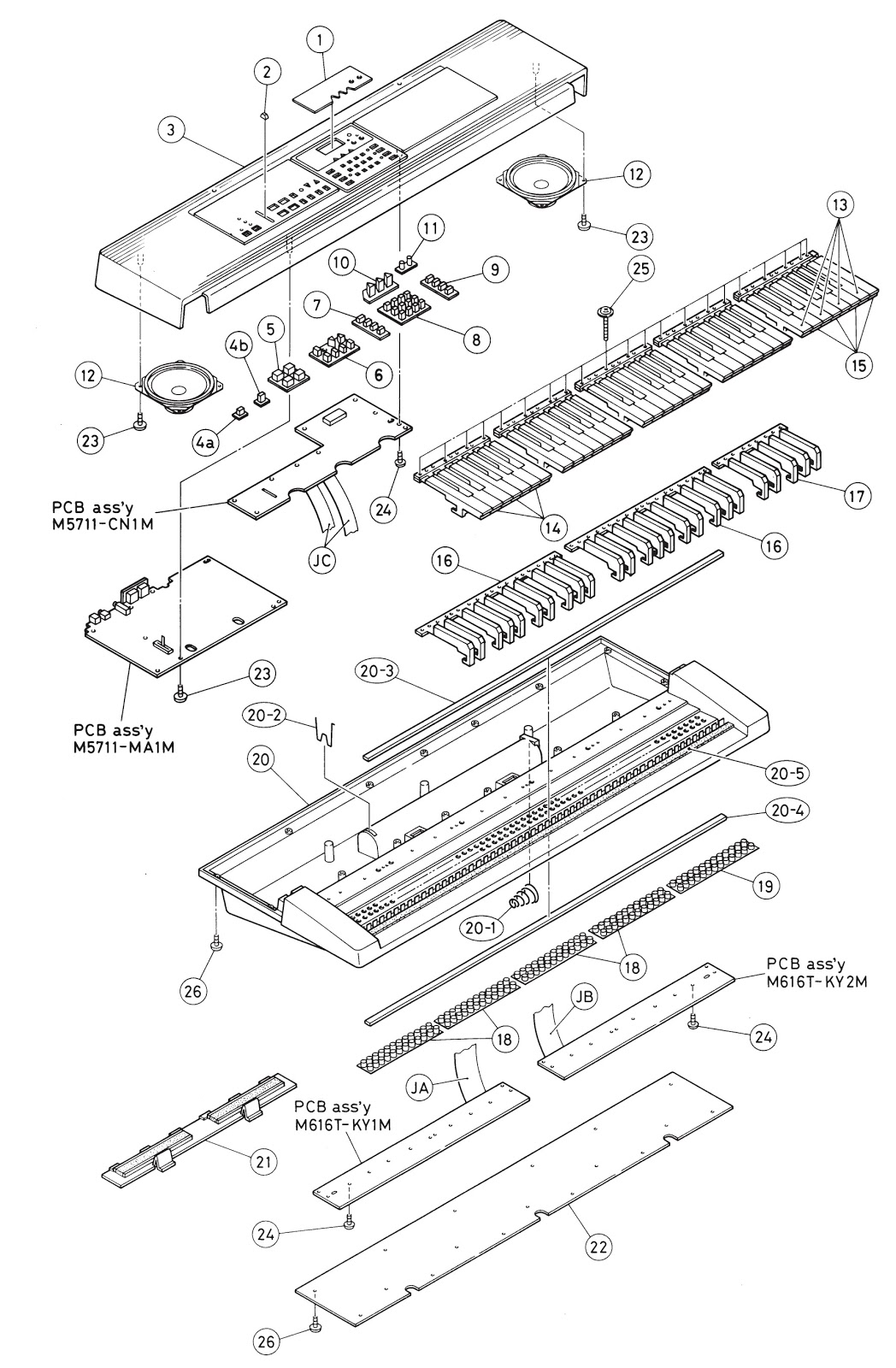 Casio Ctk 650 Electronic Keyboard Circuit Diagram Electrotechnician Schematic