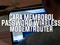 Cara Ampuh Membobol Password Modem/Router ZTE (Indihome)