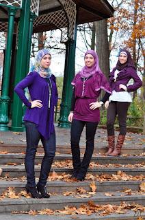 ملابس محجبات لبنات الجامعات
