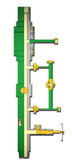 Liner Hanger Top Drive Cementing Head
