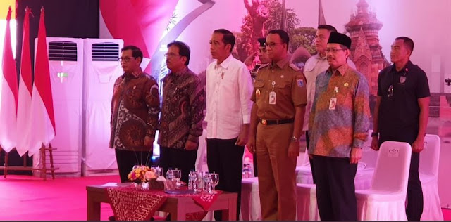 Heran Diramaikan, Presiden Jokowi: Dana Kelurahan Itu Untuk Rakyat