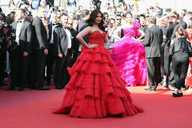 Aishwarya Rai On the Red Carpet Day 2 at cannes film festival 2017