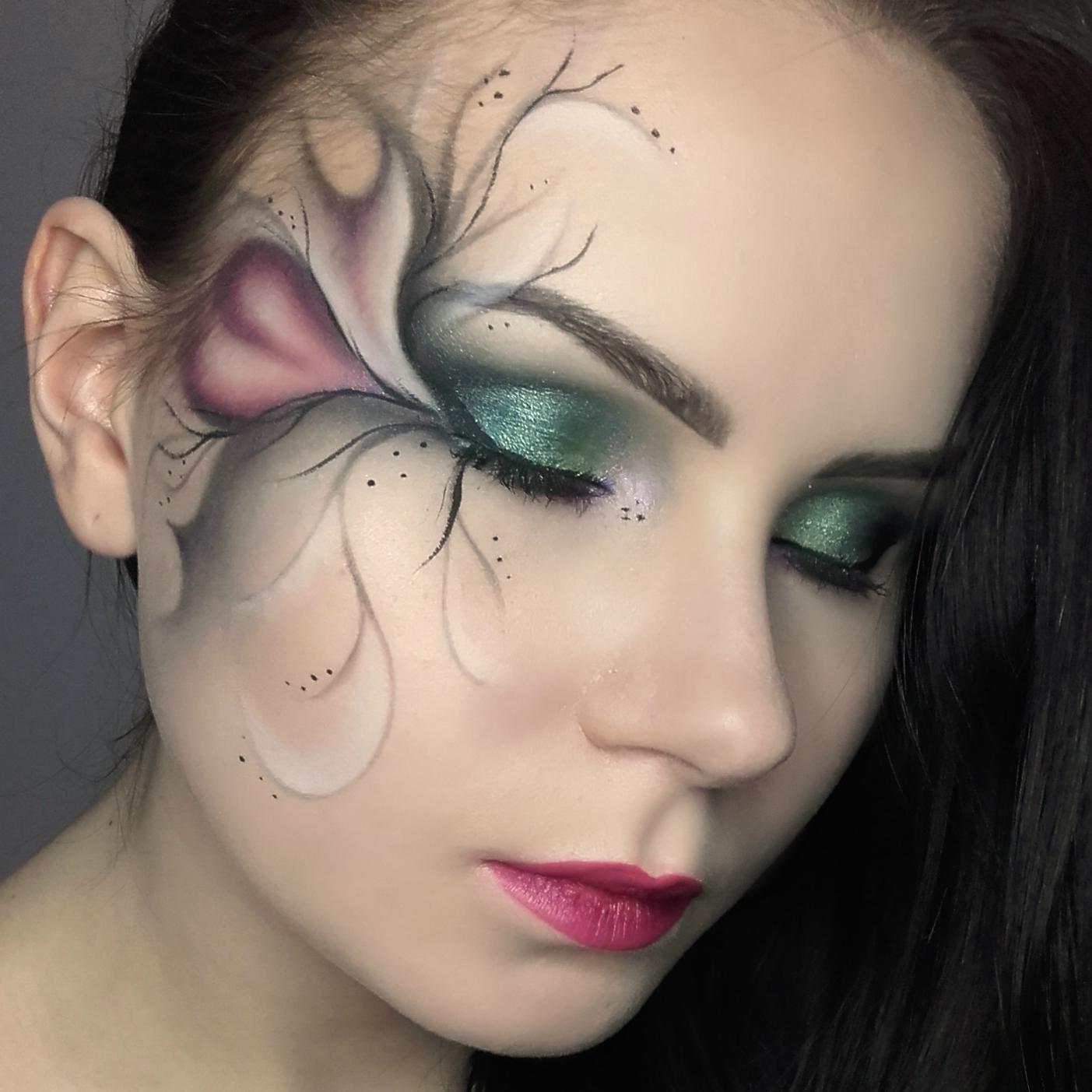 Makijaż Artystyczny W Stonowanych Kolorach Uroda Zblogowani