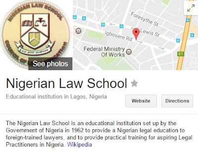 Nigerian Law School Application Form & List | Registration Fees & Courses