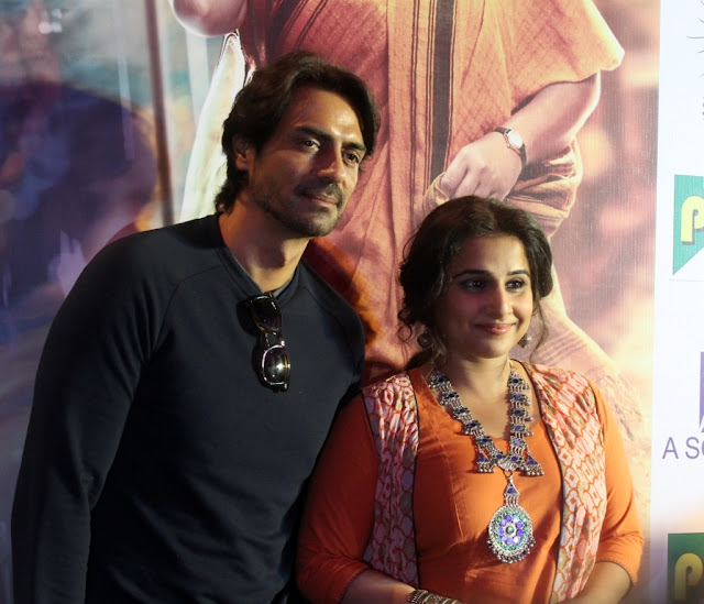 Vidya Balan, and Arjun Rampal promote Kahaani 2 in Delhi