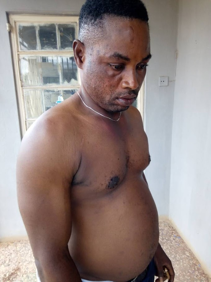 » White Man Orders Soldiers To Beat Up A Nigerian Over Electricity Bill In Edo (Pics) «