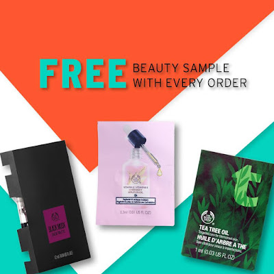 The Body Shop Malaysia Free Samples Discount Promo