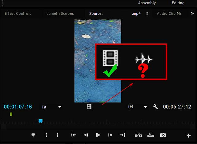 Cara Mengatasi Suara Audio Video yang Hilang ketika di Import pada Adobe Premiere Pro CC 2015