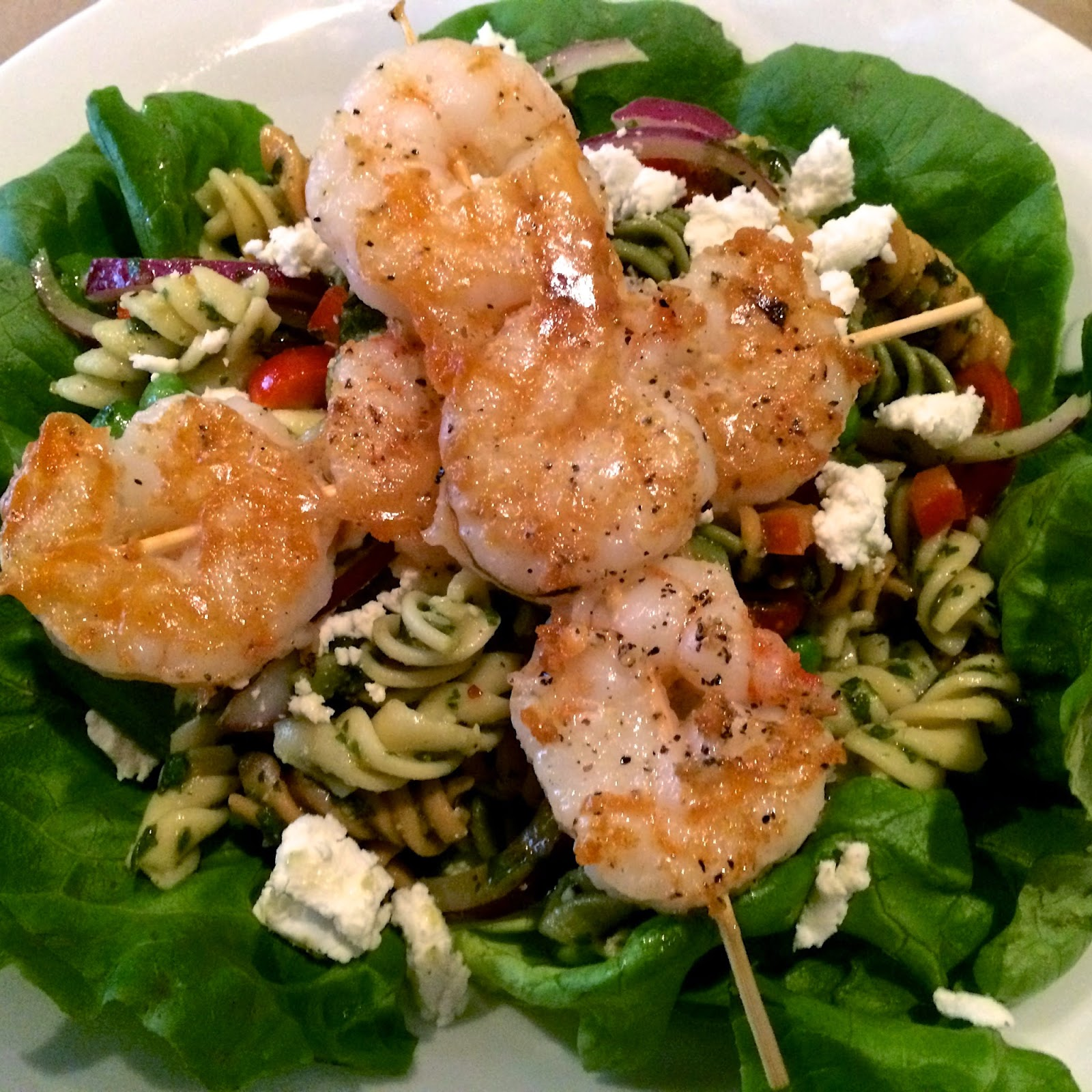 Beausoleil's Grilled Shrimp Pasta Salad