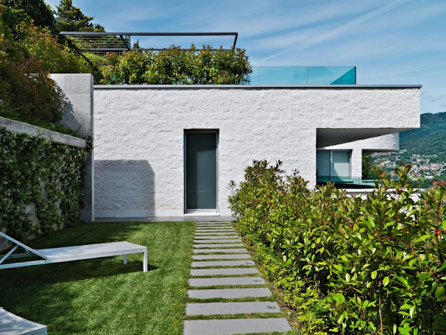 Minimalist Green and White Residence Minimalist Green and White Residence attico migani 01