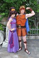 Disfraces para parejas de Hercules
