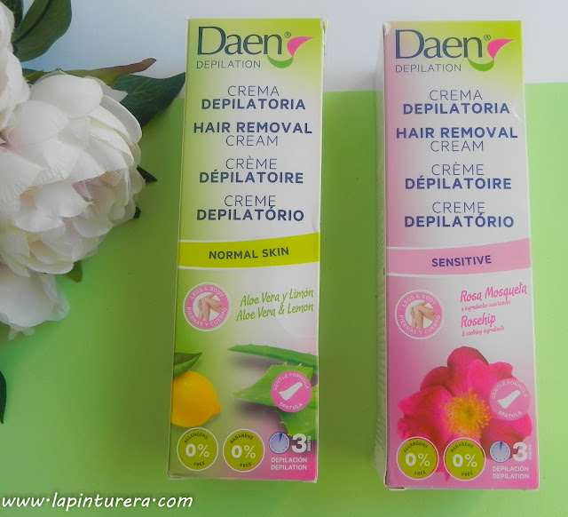 Cremas depilatorias corporales