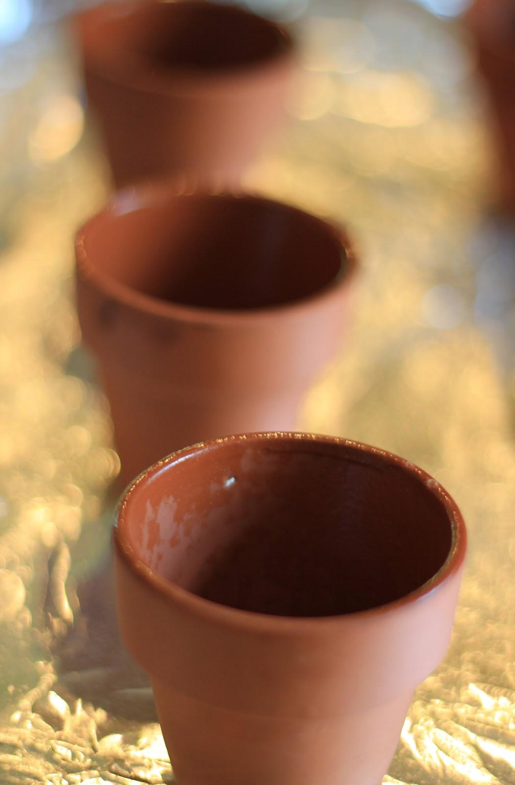 A Little Cuppa Tea Flower Pot Cupcakes