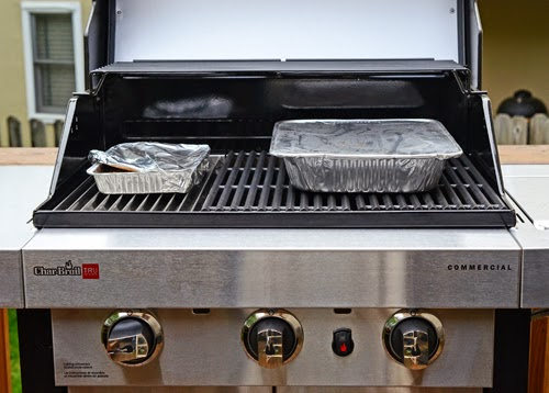indirect set up for gas grill, smoke on gas grill, smoking on gas grill