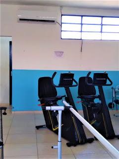 Prefeitura de Jacupiranga climatiza sala de Fisioterapia.