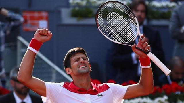 Madrid Terbuka: Djokovic Sisihkan Nishikori di Babak Pertama