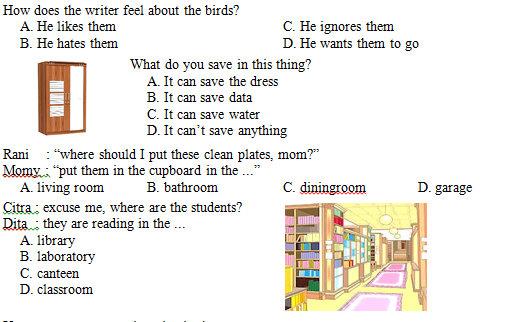 Kisi Kisi Soal Dan Kunci Jawaban Bahasa Inggris Smp Kelas 7 Semester Genap Kurikulum 2013 Didno76 Com