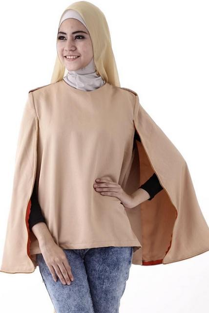 Model Hijab Cape