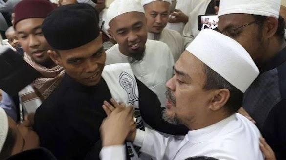 Respon HRS Soal TGB Dukung Jokowi