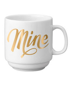 Easy Tiger Co. Mine Gold Stackable Mug at Swank Boutique