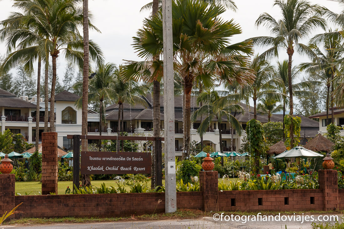 Hotel  orchid beach
