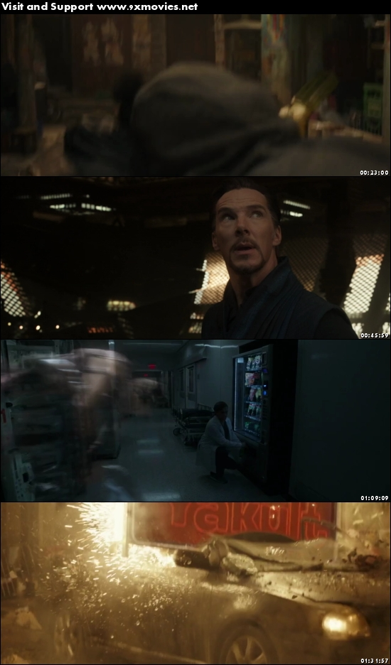 Doctor Strange 2016 English 720p BRRip