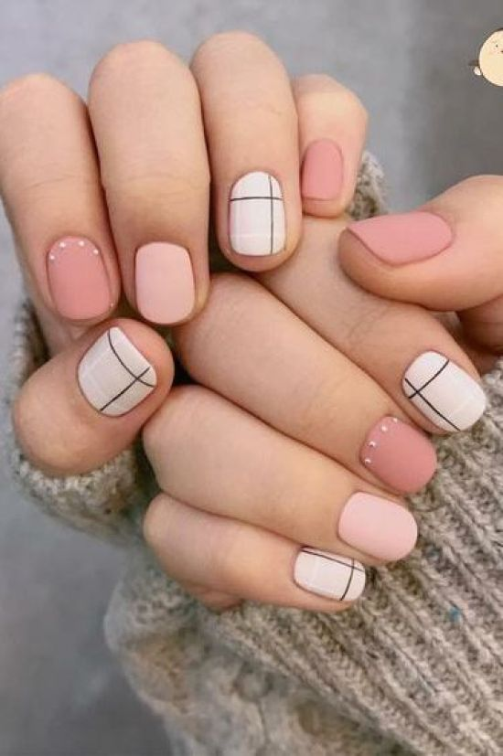 great matte nail art to try this season